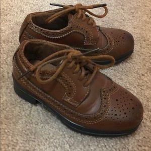 Toddler Boys Oxford Dress Shoe Size 6